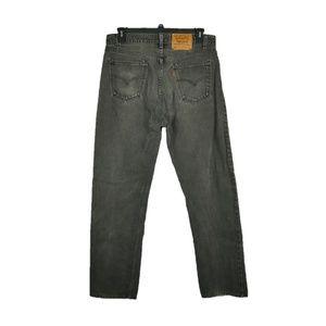 Levis 505 Regular Straight Leg Jeans Mens Sz 36x33
